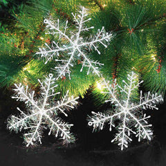 30pcs Christmas White  Snowflake  Decoration