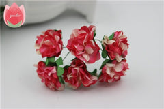 Mini Artificial Paper Rose Flowers Bouquet,Valentine's day