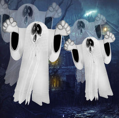 Tronzo Halloween Party Decorations For Home Wall Ornaments Hangning Ghost Party Accessories Honeycomb Ball Horror Props