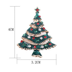 4 Tipoj de Cute New Year Christmas Tree