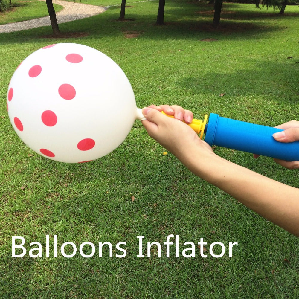 1pc High Quality Balloons Inflator for halloween Party
