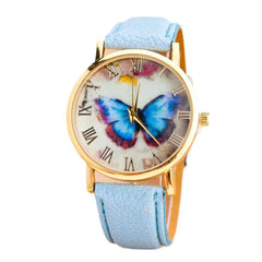 Womenstterfly Style  Analog Quartz Wrist Watch
