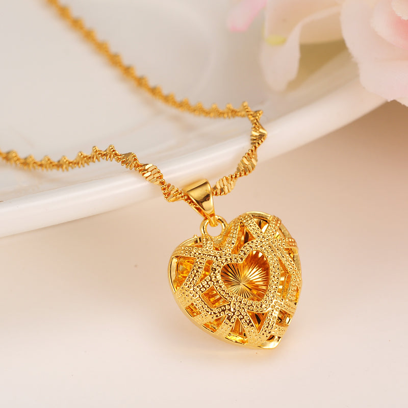 Heart Necklacewith Pendant
