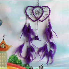Romantic Valentine gift Dreamcatcher wind chime car ornaments Hot sale fashion Indian dreamcatcher
