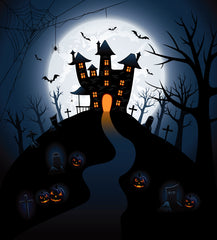 Halloween Scenic Photography background