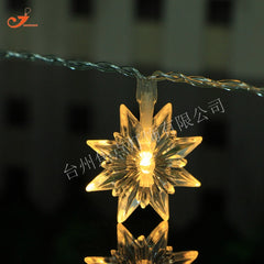 10 LED Star String Light Retro Vintage գունավոր, տուն Xmas Tree Դեկոր