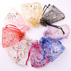 100pc  Organza  Candy bags for wedding decorations