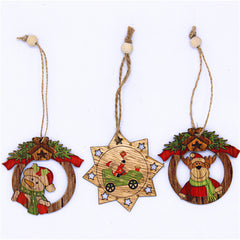 3pcs -Shirin Snowman Deer Gifts don Kirsimeti