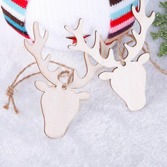 Wooden christmas Tree Hanging Ornament