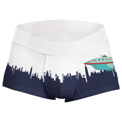 Futurama skyline planet express boxer