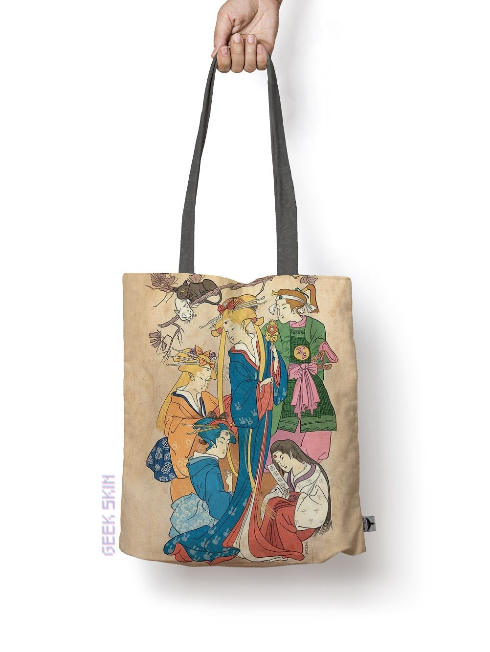Samurai sailors Tote bag sailor moon japon - Geek Skin - Geek Underwear -