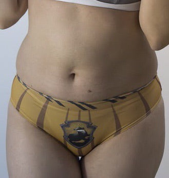 Hufflepuff panties for hard worker girls - Geek Skin - Geek Underwear -