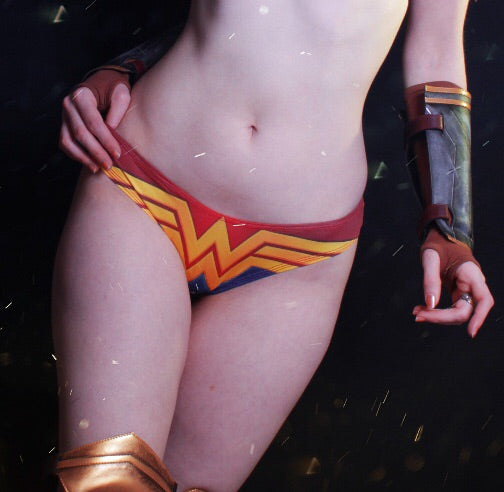 Wonder woman panties uniform - Geek Skin - Geek Underwear -
