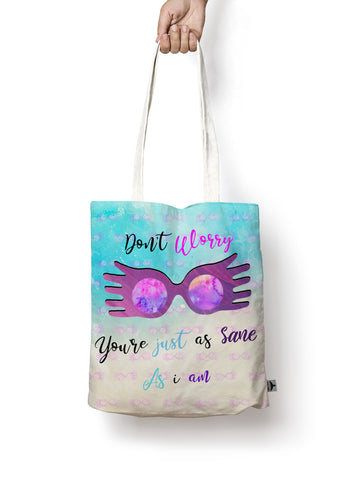 Tote bag Luna lovegood Hufflepuff harry potter - Geek Skin - Geek Underwear