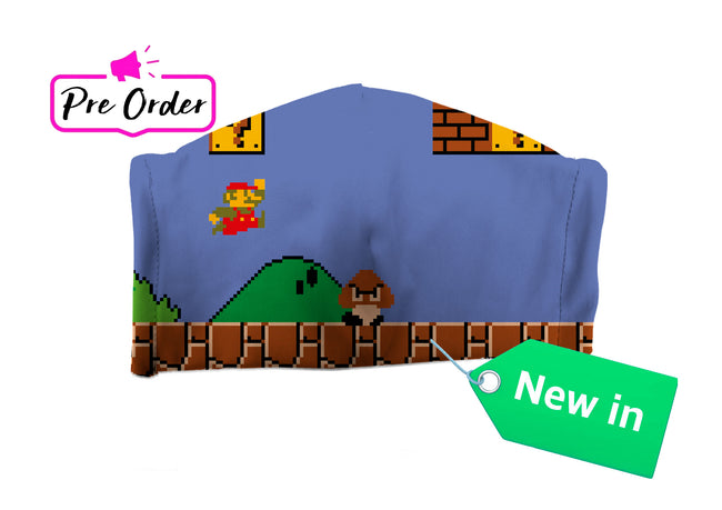 Super Mario World face mask - Geek Skin - Geek Underwear -