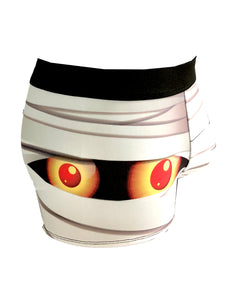 Boxer brief mummy mask halloween - Geek Skin - Geek Underwear