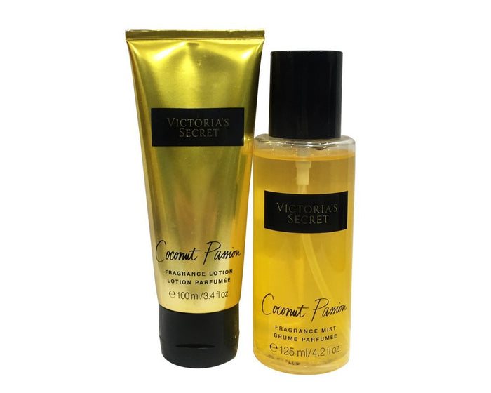 Victoria's Secret Fragrance Mist and Fragrance Lotion Combo Set (Coconut Passion)