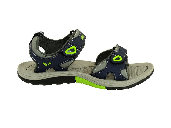 VENTO Casual Men's EVEREST Sandal (NAVY/GREEN)