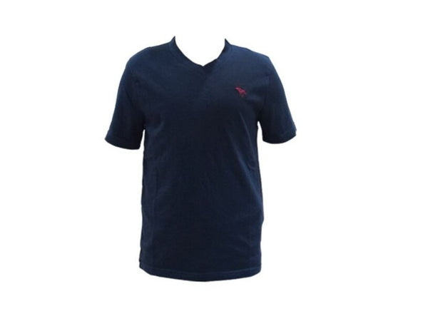 Abercrombie Kids Icon V-Neck Tee Navy (224-663-0722-023)