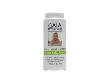 GAIA SKIN Natural Baby Powder,100 Gm