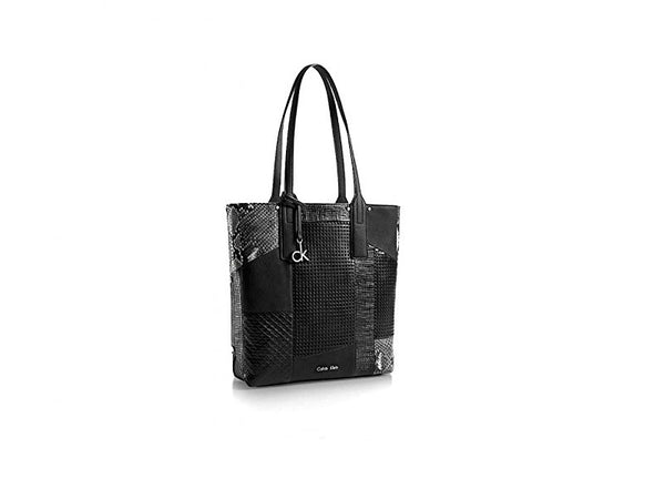Calvin Klein Davin North South Tote Black Handbag