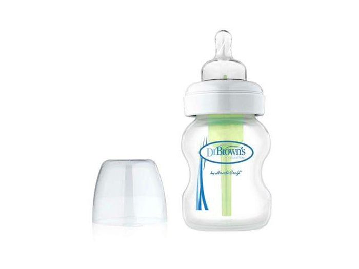Dr Brown's Options Wide Neck Feeding Bottle 5 oz / 150 ml