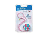 Dr. Brown's Pacifier Chain Baby Soother Clip - Pink