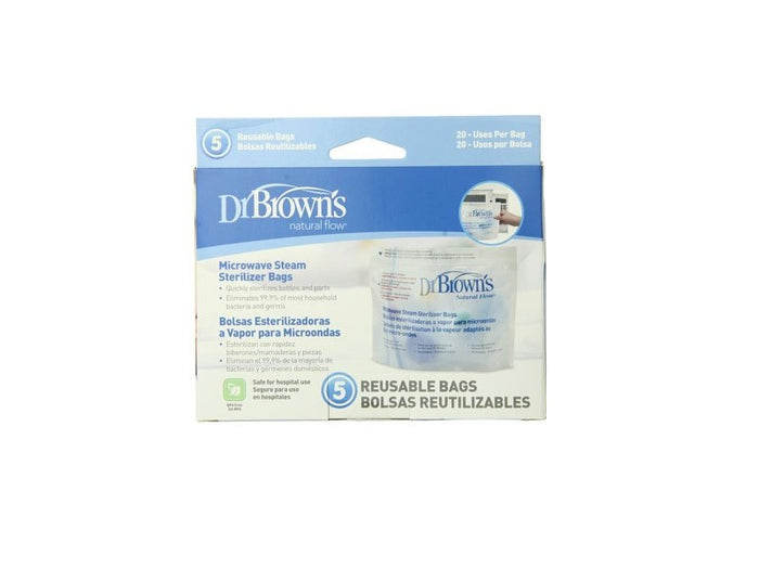 Dr. Brown Microwave Steam Sterilizer Bags