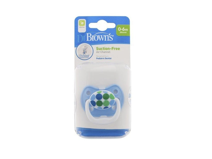 Dr. Brown's Prevent Classic Sheild Blue Pacifier