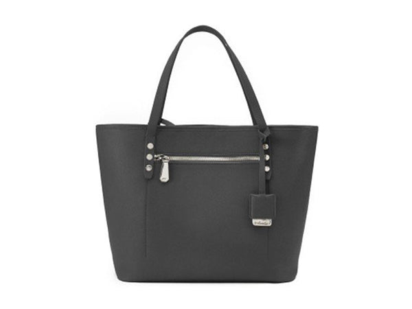 Kenneth Cole Dover Street Saffiano Leather Tote - Grey