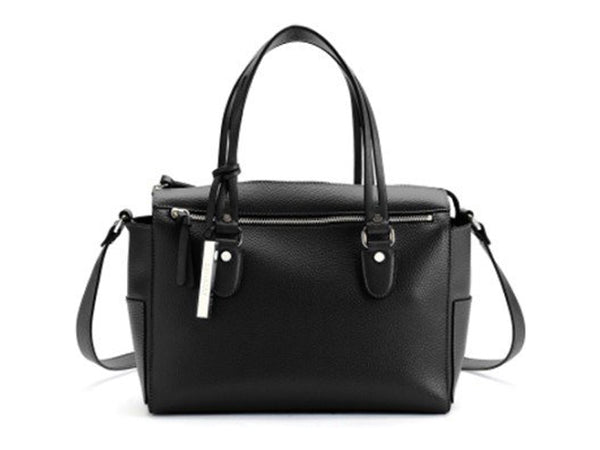 Kenneth Cole Get A Handle Large Satchel - Black