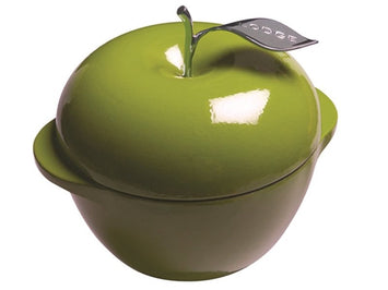 Lodge Enameled Cast Iron Apple Pot - Apple Green (E3AP50, 3-Quart)