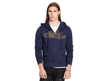 Ralph Lauren FRENCH TERRY GRAPHIC HOODIE-788586263007 (M)