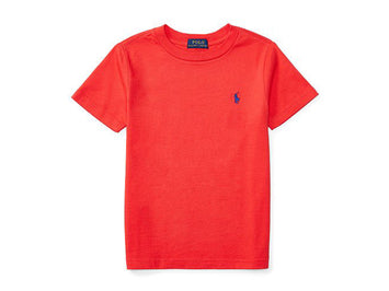 Ralph Lauren Kids Short Sleeve T-Shirt - RED REEF