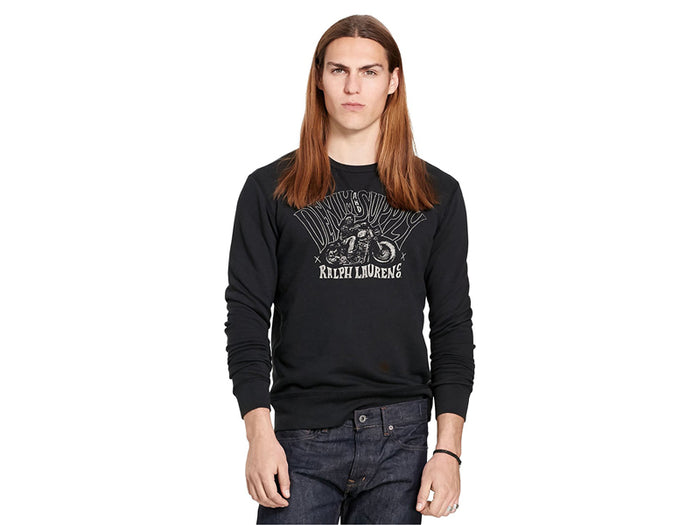 Ralph Lauren TERRY GRAPHIC SWEATSHIRT-788586259011