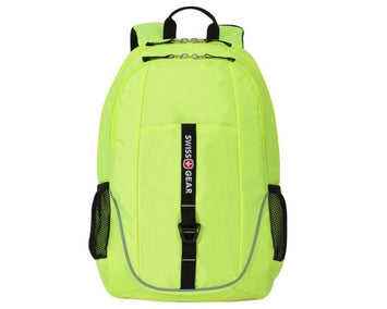 SwissGear Laptop Computer Backpack Neon Yellow