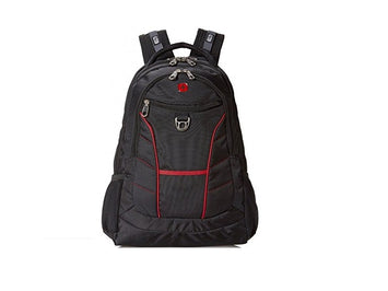SwissGear Black With Red Accents Computer Backpack