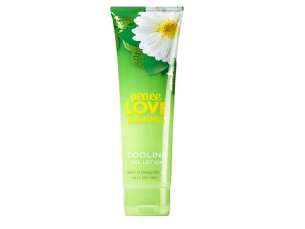 Bath & Body Works Cooling Gel Peach Love & Daisies, 5.60 Oz