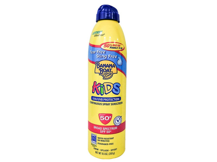 Banana Boat Kids Tear-Free,String-Free Continuous Spray Sunscreen SPF 50+, 269 g