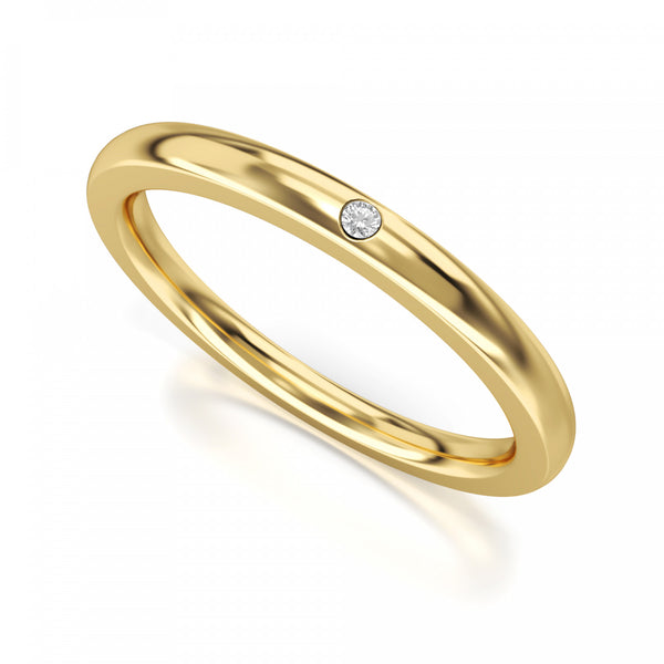 Anelly  Memoire-Ringe in Gelbgold