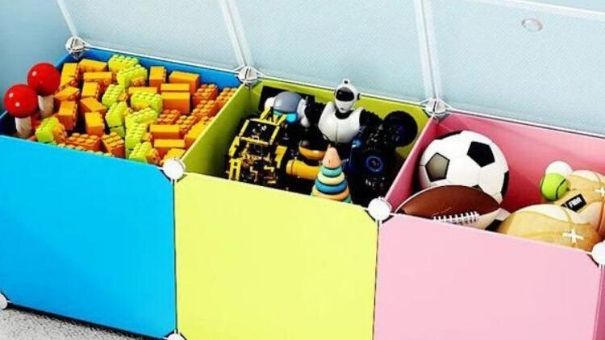 Organised kids - toy boxes