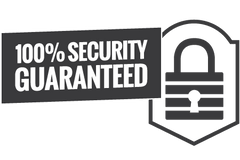 100% Security Guaranteed