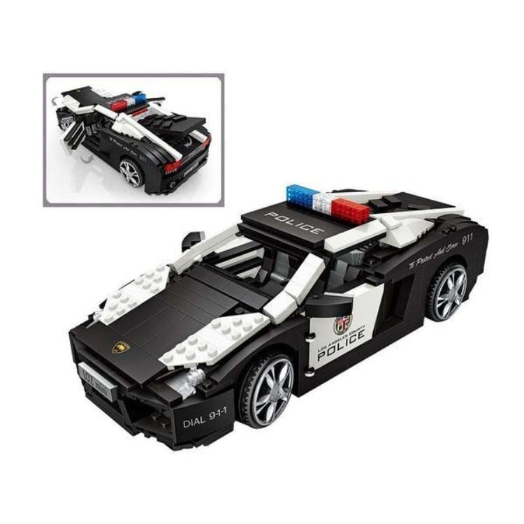 LOZ Mini Blocks Police Car - iKids