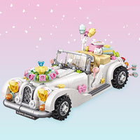 LOZ Mini Blocks White Wedding Car - iKids