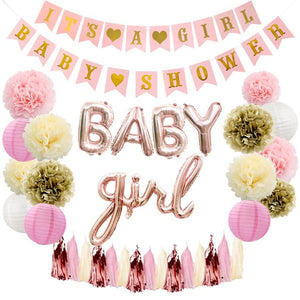 It's Baby Girl Shower Decorations Balloons - iKids