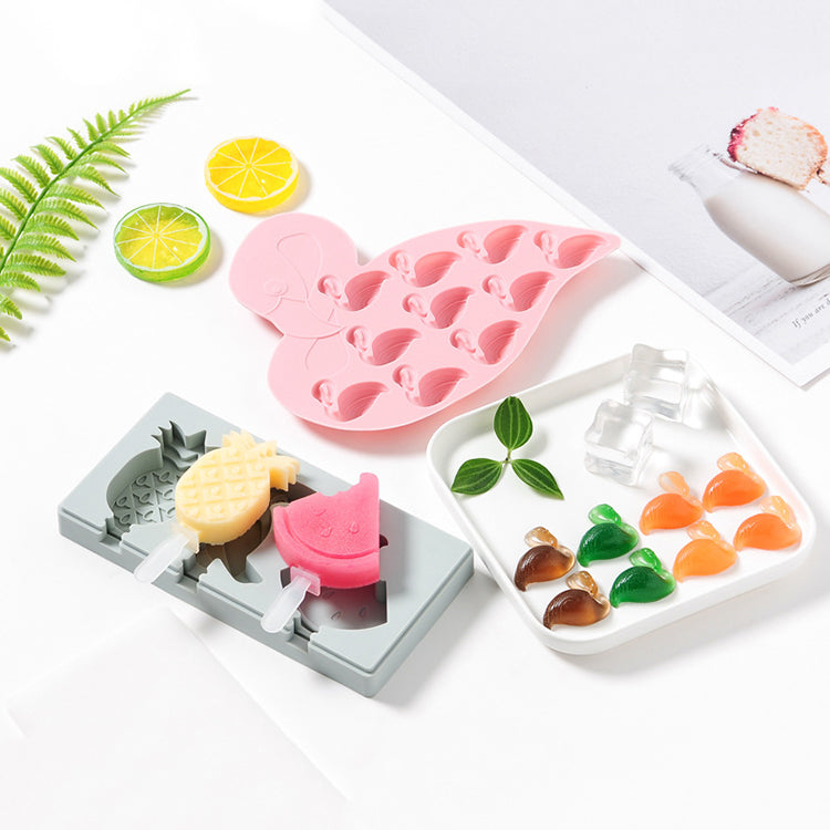 Silicone Mould 9 Flamingo - iKids