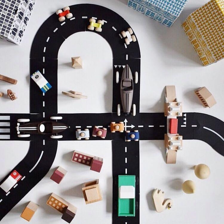 Flexible Race Track Toy Road - iKids