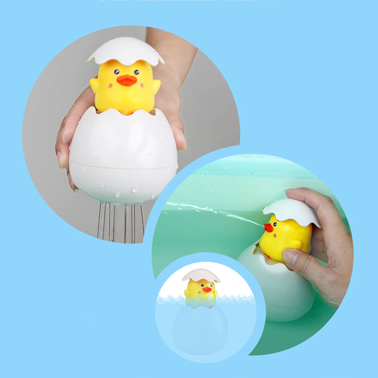 Yellow Duck Egg Bath Toy - iKids