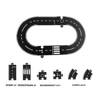 Flexible Race Track Toy Road 12 pcs - iKids