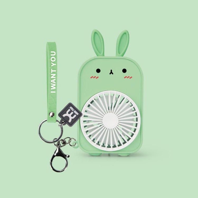 Mint Bunny Pocket Fan - iKids